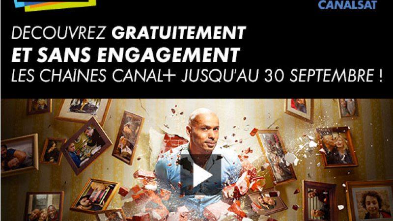Les chaînes Canal+ gratuites durant 1 mois pour les Freenautes abonnés à Canalsat, avec un petit bonus