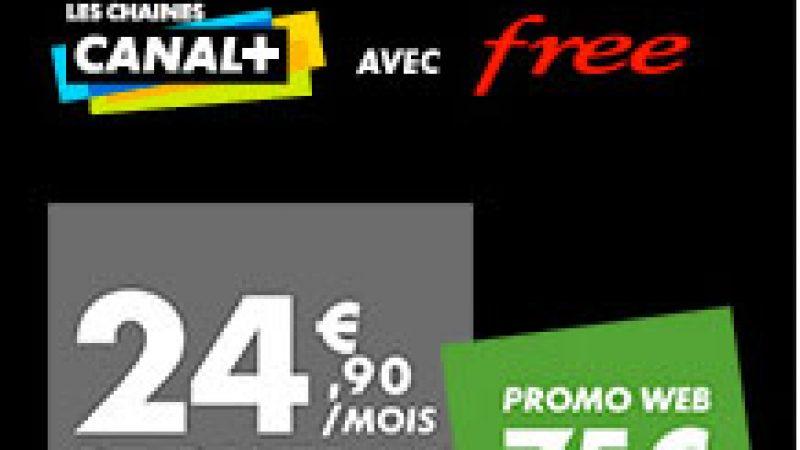 Nouvelles offres promotionnelles Canal+ et Canalsat chez Free