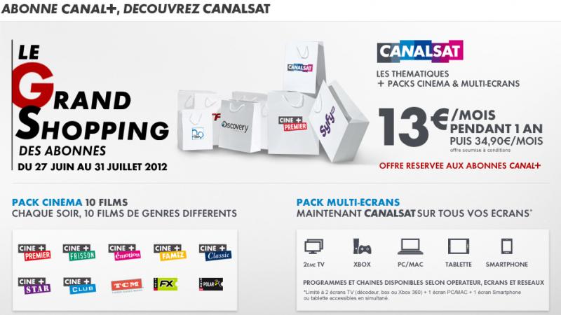 Ajout de 5 nouvelles chaînes HD dans l'univers Canalsat de Freebox TV
