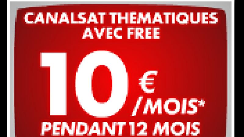 [MàJ] Canalsat prolonge son offre à 10€/mois à destination des Freenautes