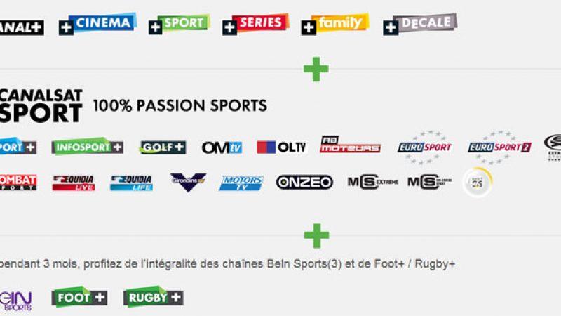 Canal et Canalsat lancent une nouvelle offre 100% sport