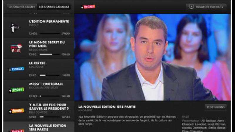 Canalsat via Free : Canalsat à la Demande débarque dans CanalTouch
