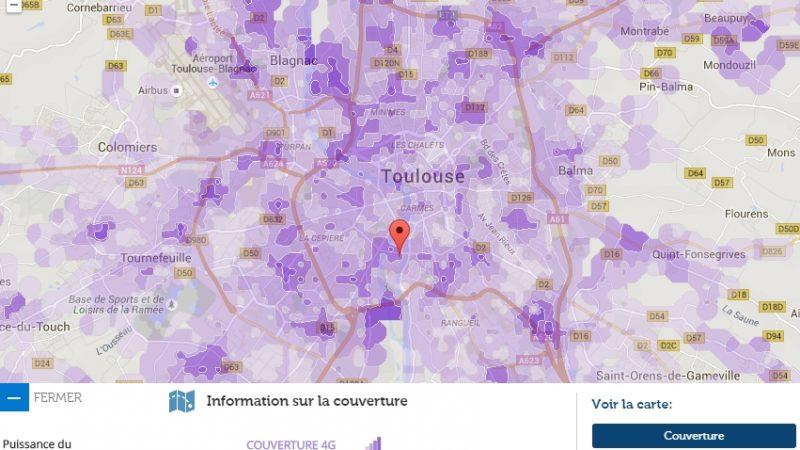 Couverture et débit 4G Free Mobile : Focus sur Toulouse