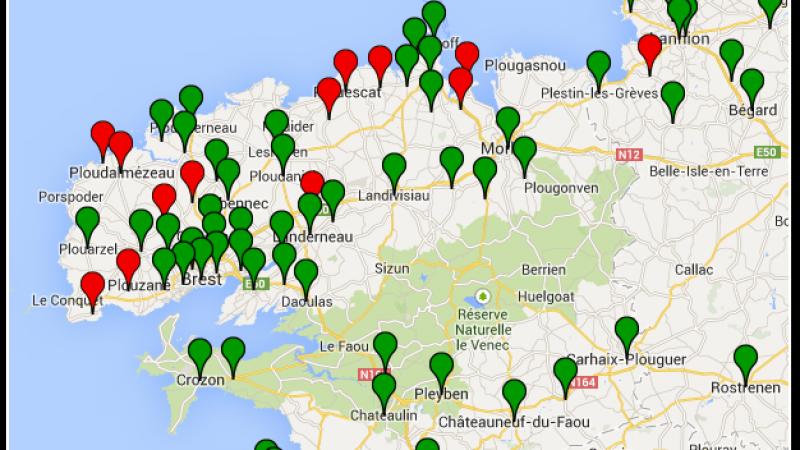 Free : incident sur plusieurs DSLAMs en Bretagne suite aux intempéries