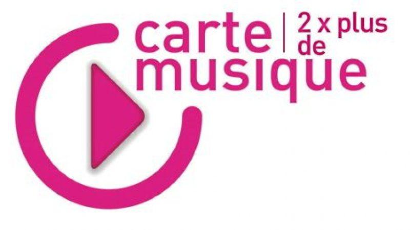 Carte musique jeunes : vers l'achat légal de musique en ligne ?