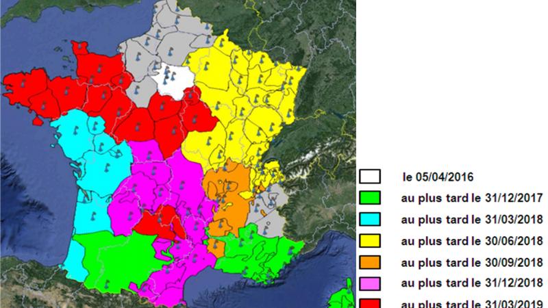 Calendrier de transfert de la bande 700MHz vers la 4G : toutes les régions n'en bénéficieront pas en même temps