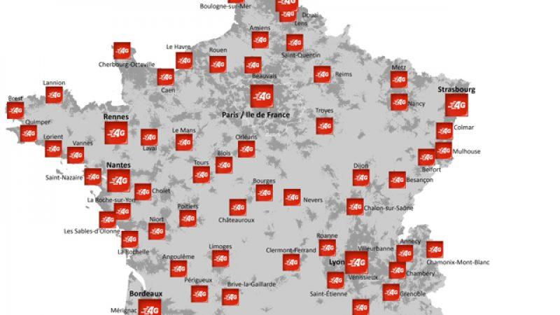 SFR annonce 50% de couverture 4G, et 70% en 2015 grâce au rapprochement avec Numericable