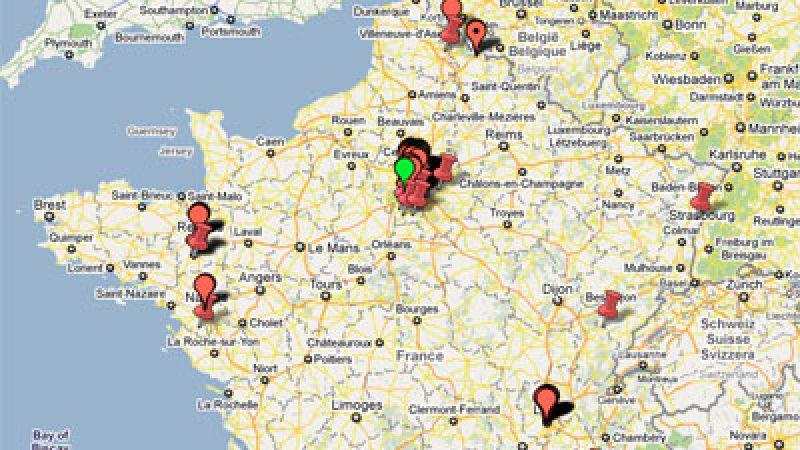 Très haut débit : La carte des déploiements en cours