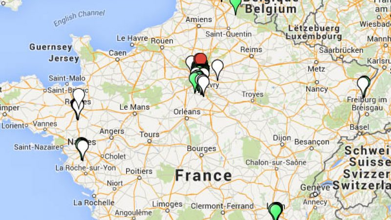 Free dispose de 230 NRO : découvrez une carte de leurs emplacements