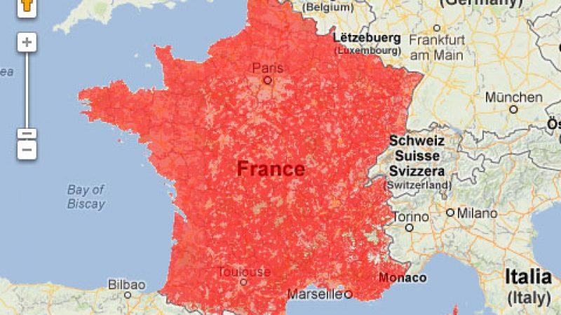 Free Mobile : Enfin une carte officielle du réseau