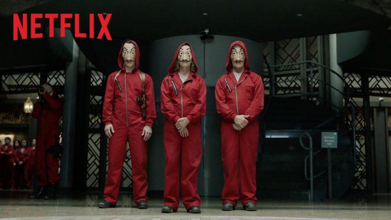Netflix : Découvrez la bande annonce de la partie 3 de La Casa De Papel