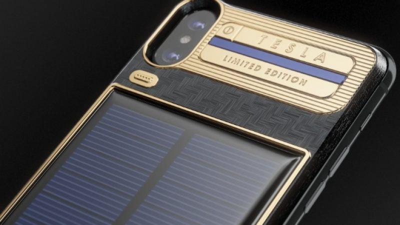 iPhone X Tesla : un smartphone customisé vendu près de 4000 euros