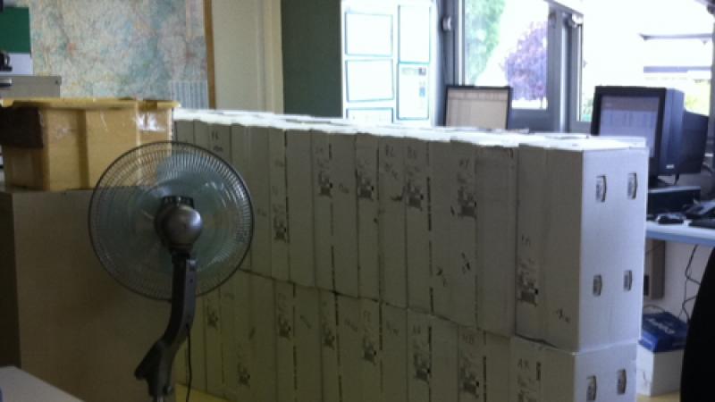 Les Freebox Révolution envahissent les bureaux d'UPS