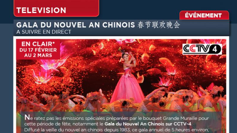Freebox TV fête le nouvel an chinois avec CCTV 4 offert