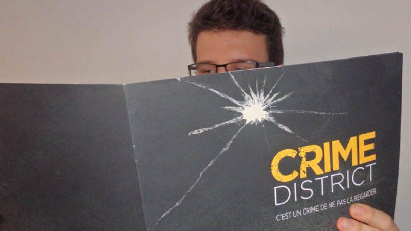 La chaîne Crime District est arrivée sur Freebox TV