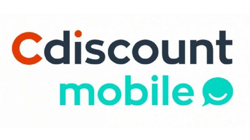 Cdiscount Mobile : forfait 4G 100 Go en promotion à 9,99 euros par mois