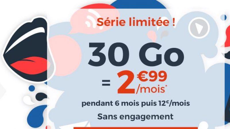 """CDiscount Mobile relance son offre """"immanquable"""" avec 30 Go de Data à 2.99€/mois"""