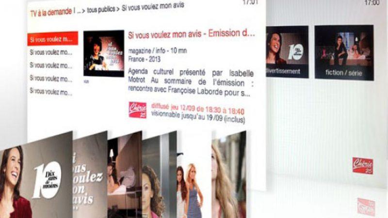 La TV d'Orange accueille le Replay de Chérie 25