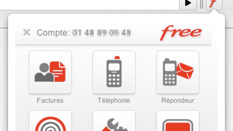 Tous vos services Freebox disponibles sous Chrome en un click