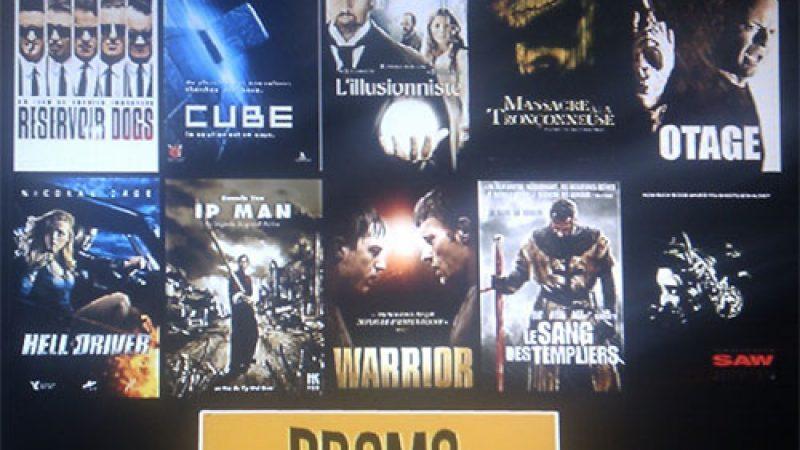 """Vidéo Club Freebox : Cinéma @ la demande lance une promo """"coup de poing"""""""