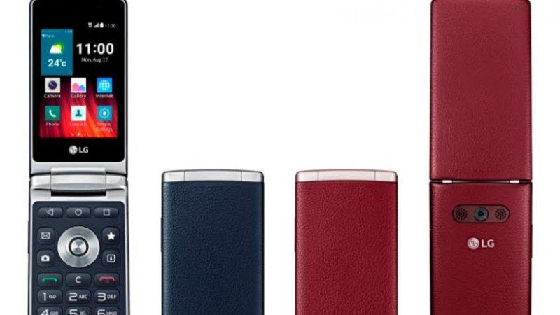 LG tente de relancer la mode des téléphones à clapet avec le LG Wine Smart
