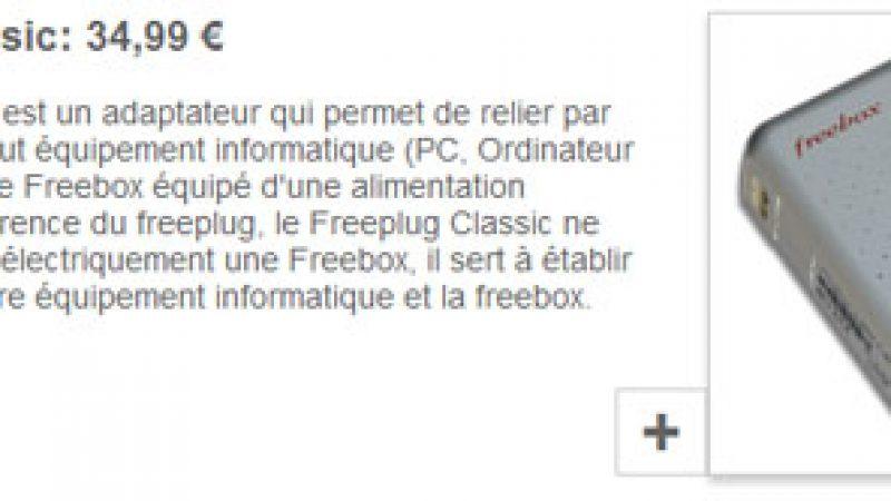 C'est fini pour les « Freeplugs Classics », Free stoppe leur commercialisation