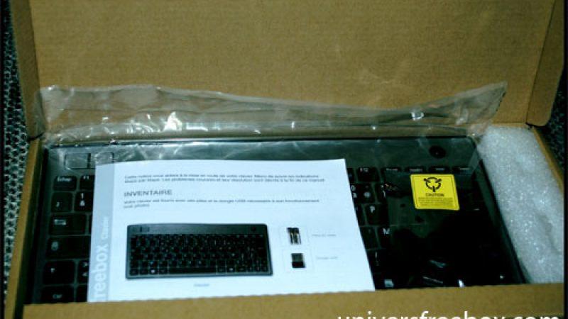 Dernières heures pour gagner un clavier + gamepad Bluetooth Freebox