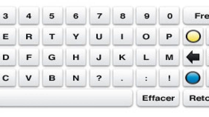 Mieux qu'une télécommande, le clavier virtuel Freebox !