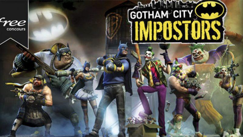 Concours Free : Les premiers participants gagneront une clé PS3 Gotham city impostors