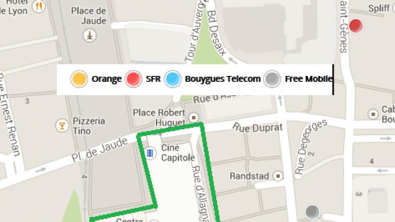 Un centre commercial dépourvu d'ondes mobiles et de réseau