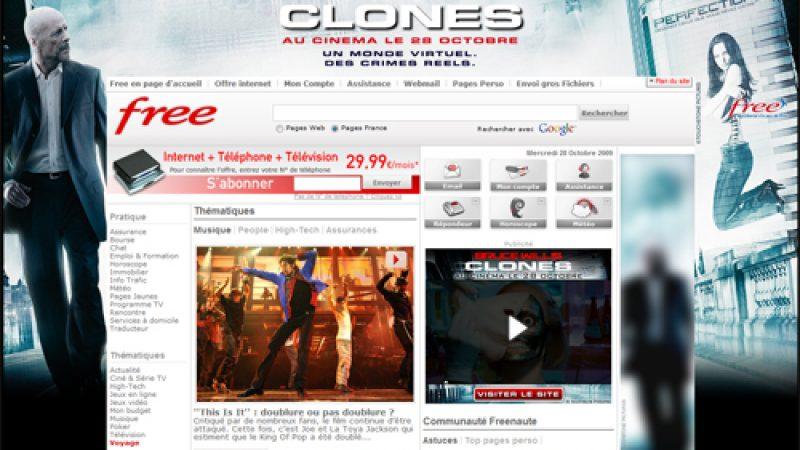 Free se met aux couleurs de Clones