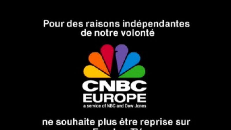 CNBC Europe boude la Freebox
