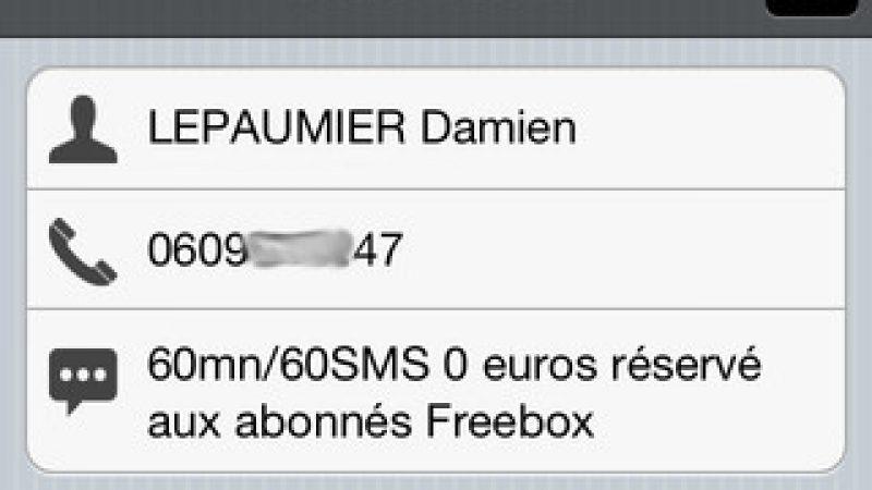 Free Mobile Companion : suivez votre consommation Free Mobile avec votre iPhone/iPad