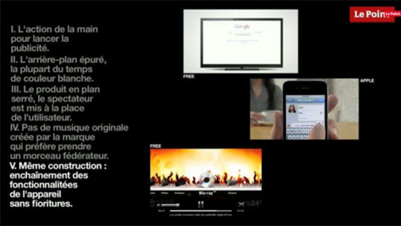 Comparatif vidéo des pubs Apple et Free : On ne rigole plus !