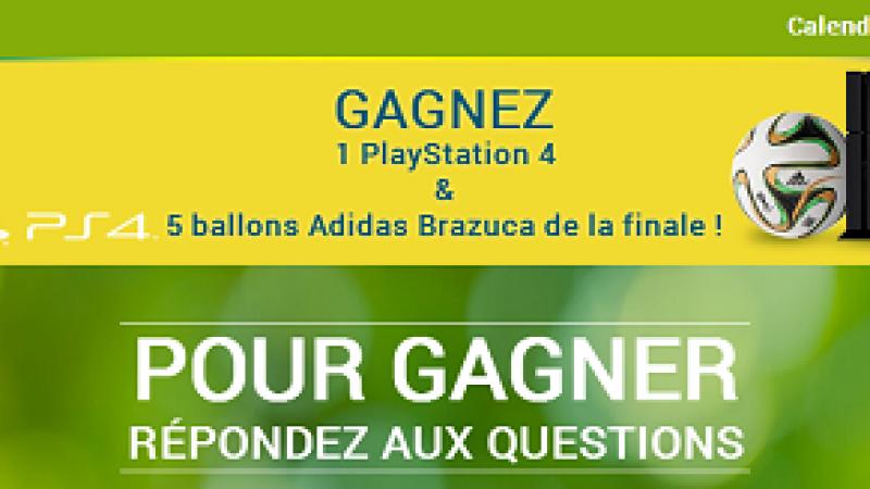 Participez au jeu concours avec Free et BeIn Sport et gagnez une PS4