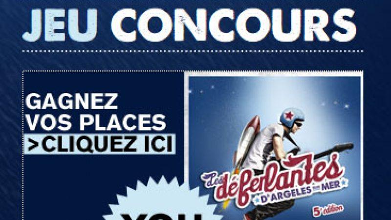 """Concours Freenaute : gagnez des places pour """"les déferlantes"""""""