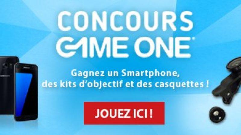 Free lance un concours avec Game One qui permet de gagner un Galaxy S7