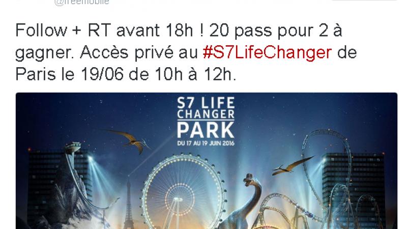 Free Mobile : c'est parti pour le concours et gagner des Pass pour le 1er parc d'attraction VR