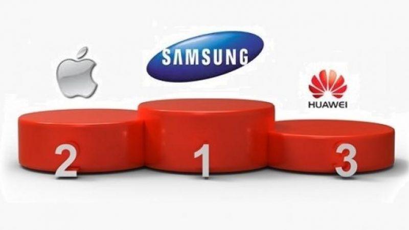 Les smartphones Huawei concurrents potentiels de Samsung et Apple