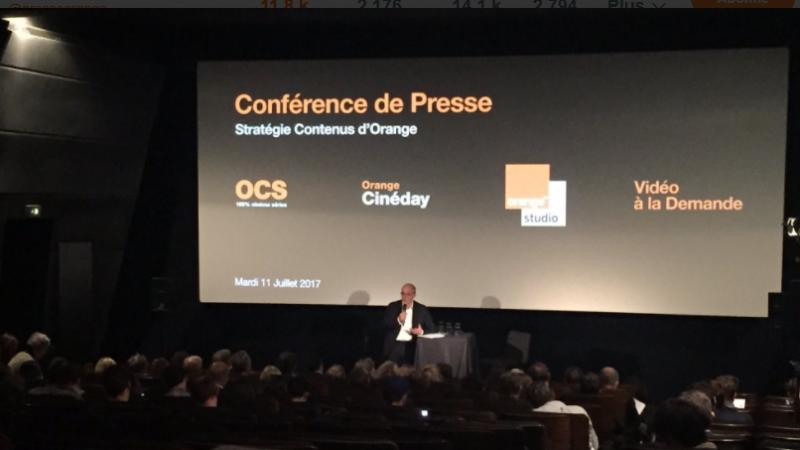 TV, cinéma, BD : Orange affirme ses ambitions dans les contenus avec la création d'Orange Content