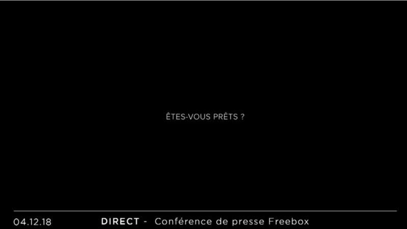 Vous avez raté la Keynote Free ? Vous pouvez voir le replay et découvrir l'annonce des Freebox Delta et One