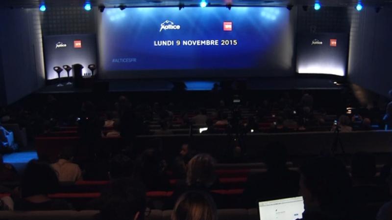 Infos en Direct : la conférence et les annonces de SFR