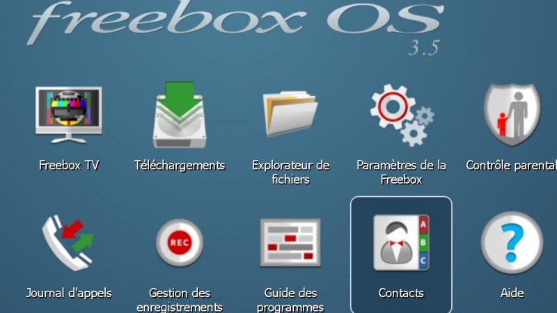 Tuto : gérez vos contacts et affichez-les sur la Freebox