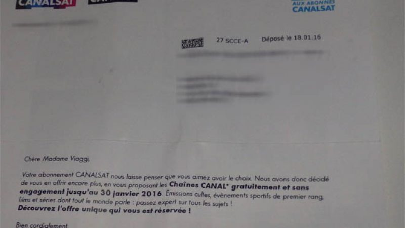 Vous disposez des chaînes Canal+ en clair sur la Freebox ? Canal vous explique pourquoi une fois que c'est fini
