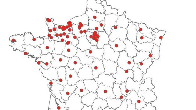 Free a mis à jour la carte de son réseau Wimax