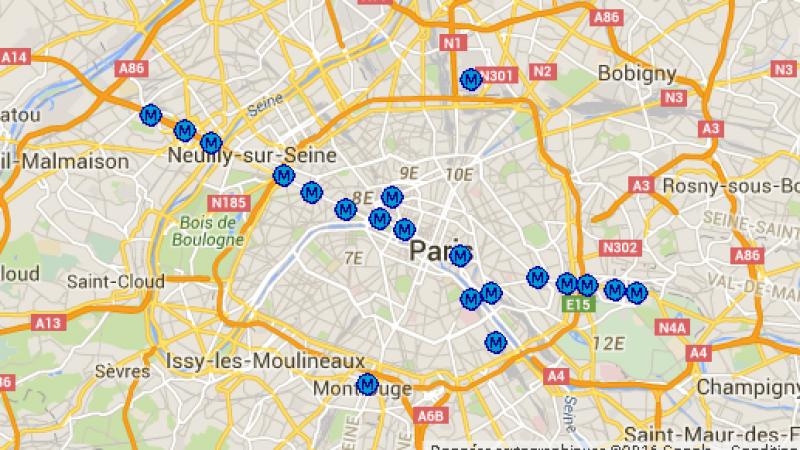 Découvrez la carte des stations de métro couvertes par le réseau propre de Free Mobile