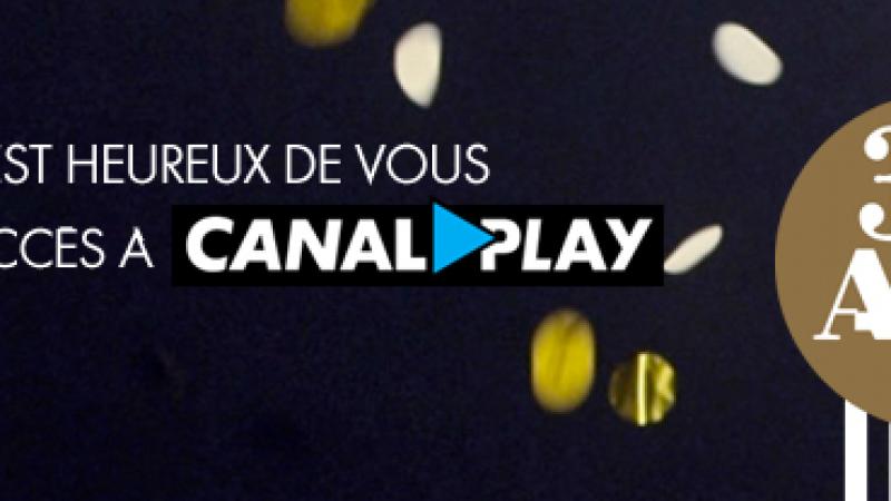 Canal+ offre Canalplay durant 3 mois à tous les abonnés Canal+/Canalsat