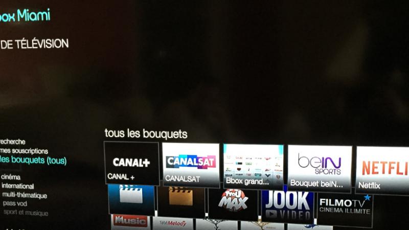 Canalsat et Canal+ arrivent enfin sur Bbox Miami, mais plusieurs services manquent encore à l'appel
