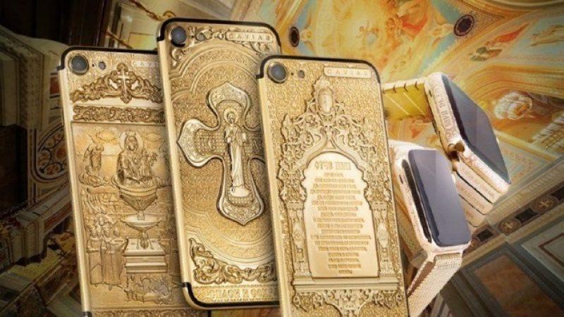 Des iPhone très bling-bling et hors de prix visant une clientèle croyante