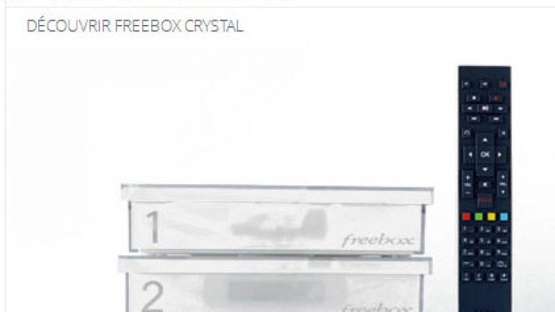 Quel débit maximum pour la Freebox Crystal ?